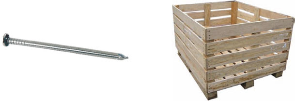 WOODEN CRATE - BOX NAIL